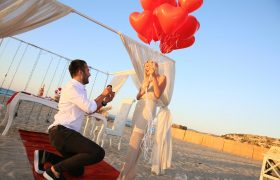 Sürpriz Evlilik Teklifi Organizasyonu Çeşme